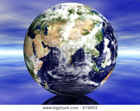 Earth Middle East