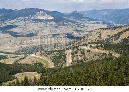 View Of Chief Joseph Scenic Byway