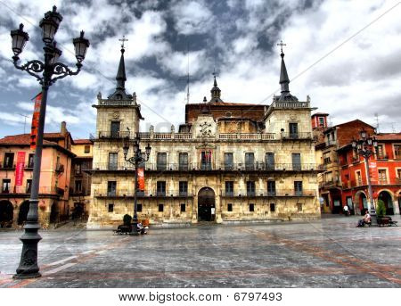 Plaza Mayor of Leon