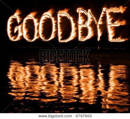 Burning Good Bye