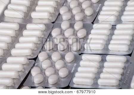 Medicine Tablet Antibiotic Pills