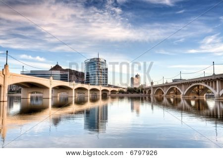 Downtown Tempe and Mill Avenue