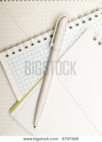 Pen And Notebooks