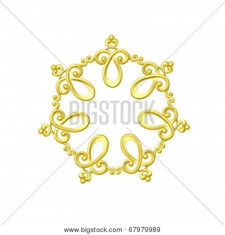 Gold Ornate