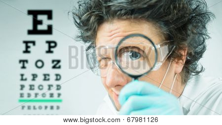Funny Doctor Ophthalmologist