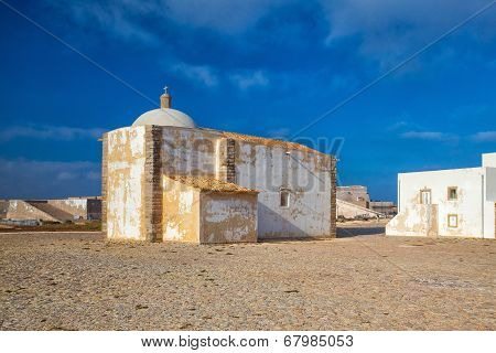 Church Of Our Lady Of Grace  At Sagres Fortress