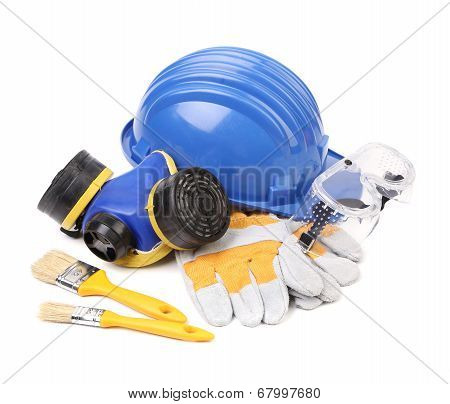 Working equipment for builders.