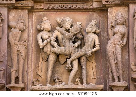 Erotic Temple In India.