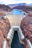 picture of hydroelectric  - Hoover Dam in United States - JPG