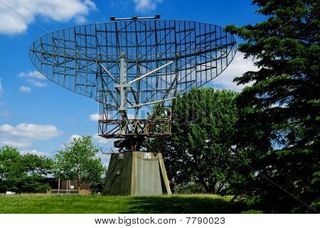 WWII Era Radar Dish