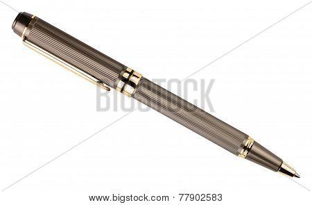 Ball Point Pen Isolated On White