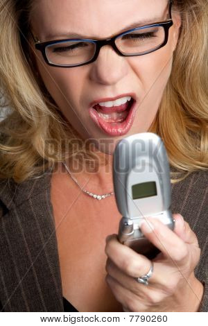 Yelling Phone Woman