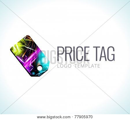 Logo Template Vector Price tag
