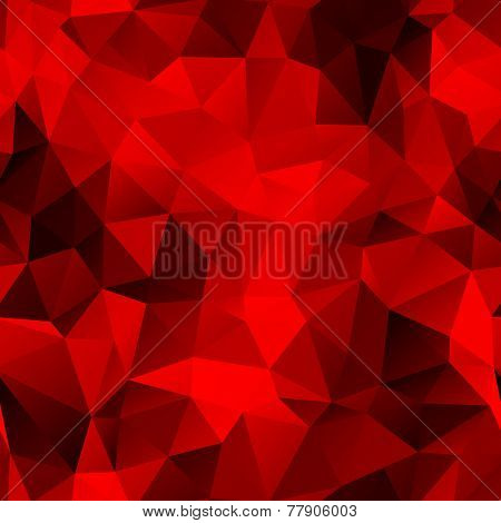 seamless dark red polygonal background