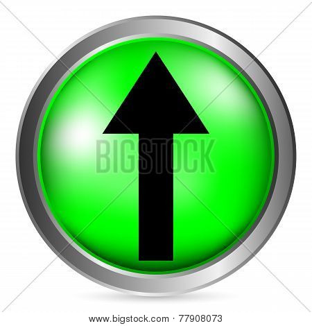 Arrow Straight Button