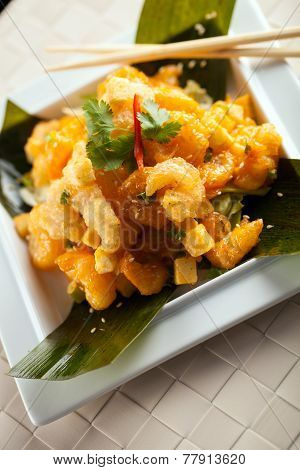 Thai Shrimp Plate