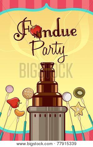 Fondue Party Invitation