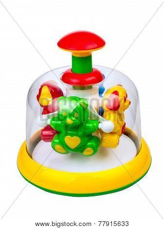 Children's toy pinwheel