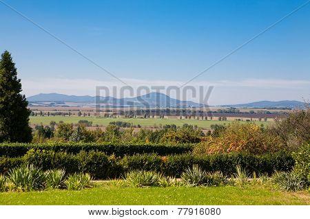Ornamental Garden General View