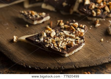 Homemade Chocolate English Toffee