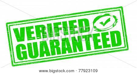 Verified guaranteed