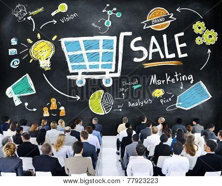 Sale Sales Selling Finance Revenue Money Income Payment Concept