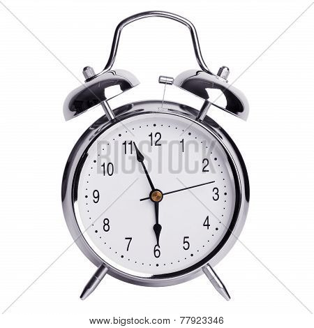 Five To Six On An Alarm Clock