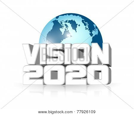 An illustration of Vision 2020 icon