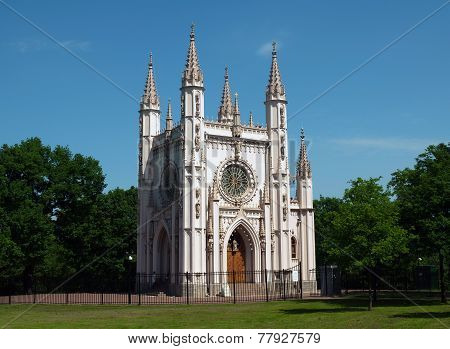 Gothic Chapel In Alexandria, Peterhof