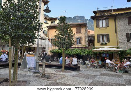 Square In Malcesine