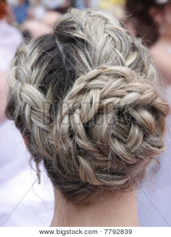 wedding  coiffure