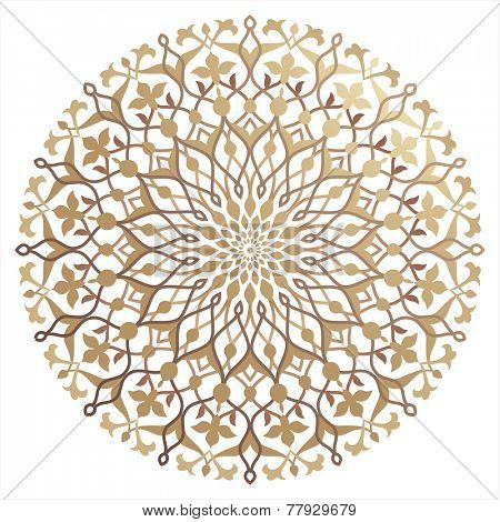 Islamic floral pattern