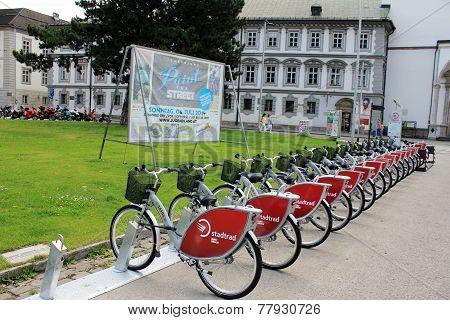 Rent a bike - eco option