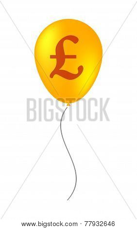 Balloon Illustration With A Currency Sign