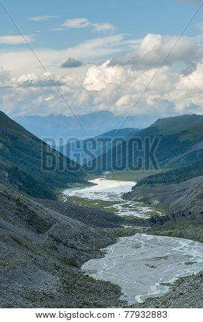 Akkem Valley. Russia