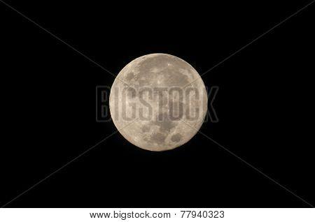 Full Moon, Taken On 07 December 2014