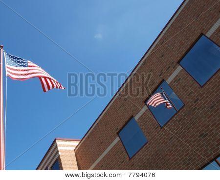 Window flag reflection