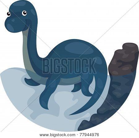 Dino swim