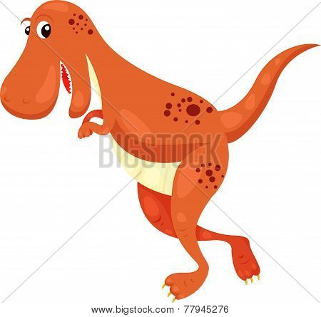illustration of T. Rex. dino
