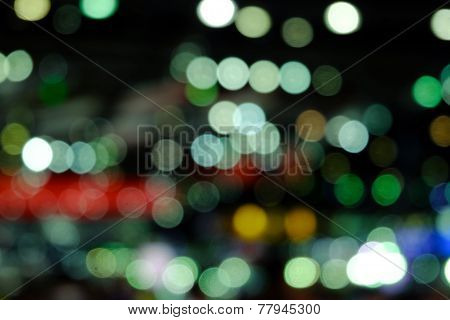 Blurry Bokeh Background