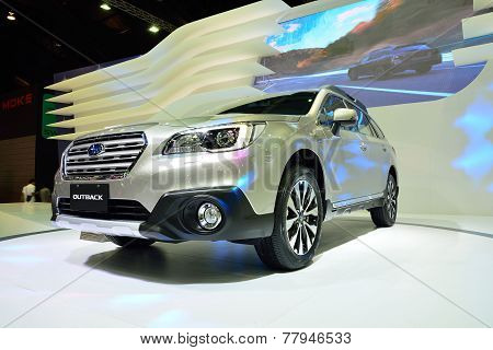 Nonthaburi - December 1: Subaru Outback Car Display At Thailand International Motor Expo On December