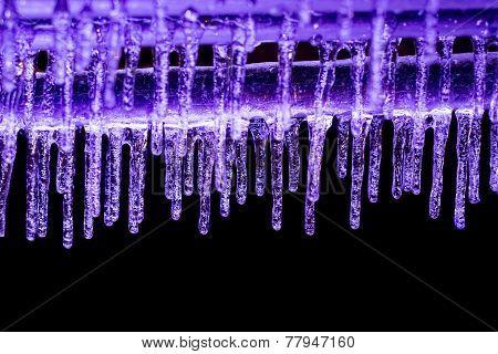 Purple Icicles