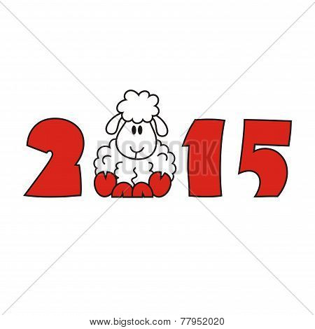 2015 new year sheep goat