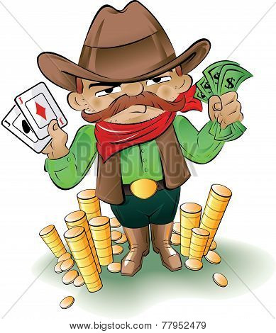 Gamblin' Cowboy
