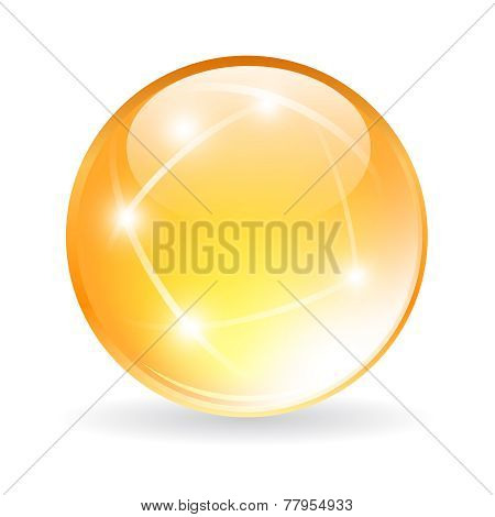 Vector glass orb