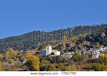 Bubion town in Sierra Nevada Granada