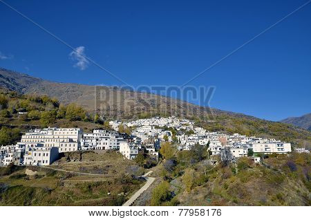 Trevelez town in Sierra Nevada Granada, spain