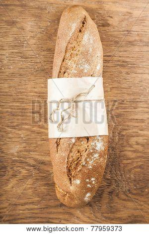 Fresh Black Long Loaf