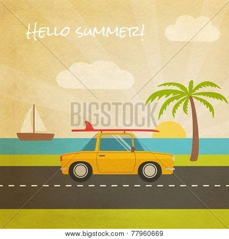 Summer vacation tourism