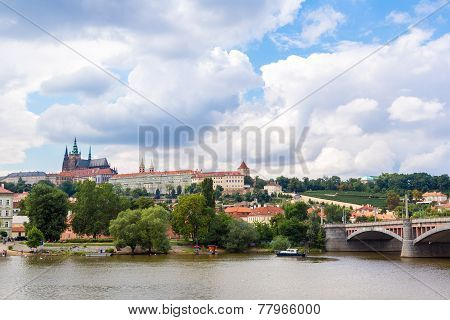 Cityscape Of Prague.